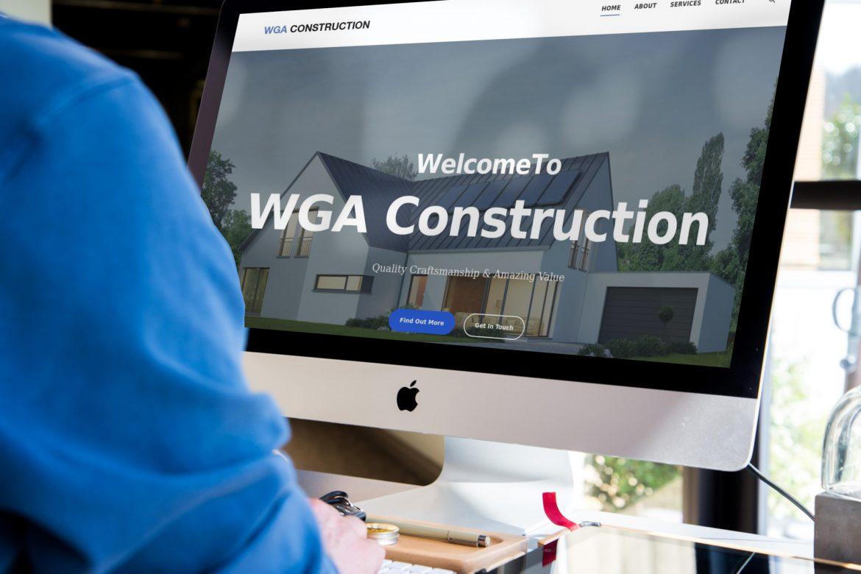 WGA Construction Mockup